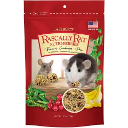 Lafeber Nutritionally Complete Adult Rat Food with Bananas Cranberries And Peas  Image