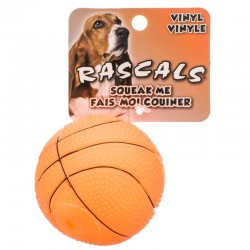 Rascals Vinyl Basketball for Dogs Image