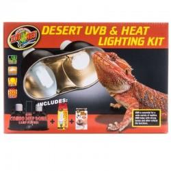 Zoo Med Desert UVB & Heat Lighting Kit Image