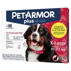 PetArmor Plus Flea and Tick Treatment for X-Large Dogs (89-132 Pounds) Image