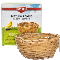 Kaytee Nature's Nest for Canaries - Bamboo Image