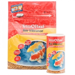 Tetra Pond Koi Vibrance Premium Nutrition with Color Enhancers Image