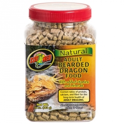 Zoo Med Natural Adult Bearded Dragon Food Image