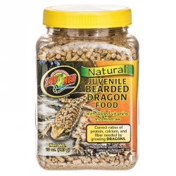 Zoo Med Natural Juvenile Bearded Dragon Food Image