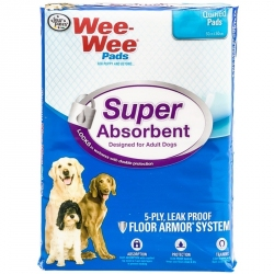 Four Paws Wee Wee Pads - Super Absorbent Image