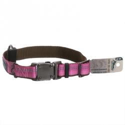 K9 Explorer Reflective Adjustable Dog Collar - Rosebud Image