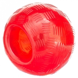Spot Play Strong Rubber Ball Dog Toy - Red Image