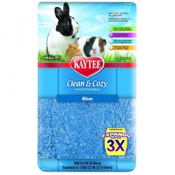 Kaytee Clean & Cozy Small Pet Bedding - Blue Image