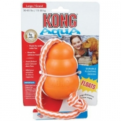 Kong Aqua Floating Dog Toy with Rope Image