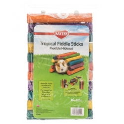 Kaytee Tropical Fiddle Sticks Flexible Hideout Image