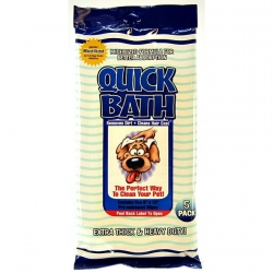 Quick Bath Wipes for Dogs Image