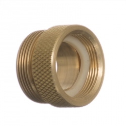 Python No Spill Clean & Fill Female Brass Adapter Image