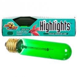 Zoo Med Aquatics Highlights Tubular Aquarium Lamp - Green Image