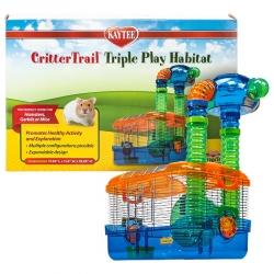 Kaytee CritterTrail Triple Play Habitat Image
