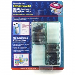 Penn Plax Smallword Replacement Filtration Units Image