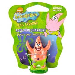 Penn Plax Spongebob Patrick Aquarium Ornament Image