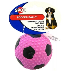 Spot Fiber Latex Soccer Ball Image