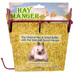 Kaytee Hay Manger With Salt Spool Hanger Image