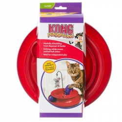 Kong Playground Treat Dispensing Cat Toy Image