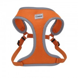 Coastal Pet Comfort Soft Reflective Wrap Adjustable Dog Harness - Sunset Orange Image