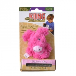 Kong Botanicals Refillable Valerian Mint Piglet Cat Toy Image