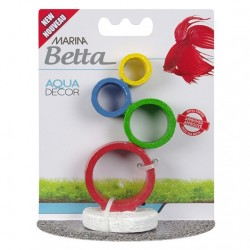 Marina Betta Aqua Decor - Circus Rings Image