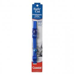 Coastal Pet Safe Cat Adjustable Nylon Breakaway Collar - Blue Image