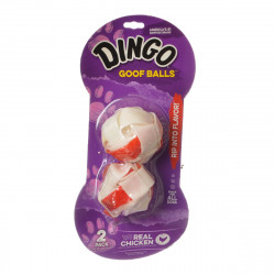 Dingo Goof Balls Chicken & Rawhide Chew Image