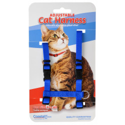 Tuff Collar Adjustable Cat Harness - Blue Image