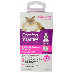 Comfort Zone Spray & Scratch Control Spray For Cats & Kittens Image