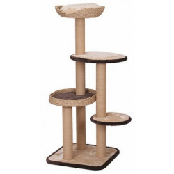 Pet Pals Treehouse Natural Wood Cat Tree Image