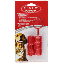 Sentry Petrodex Deluxe Finger Toothbrush for Cats and Dogs Image