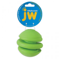 JW Pet SillySounds Spring Ball Dog Toy - Assorted Colors Image
