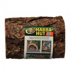 Zoo Med Habba Hut Natural Half Log Shelter Image