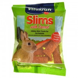 Vitakraft Slims with Carrot for Rabbits Image