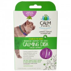 Calm Paws Calming Disk for Cat Collars Image
