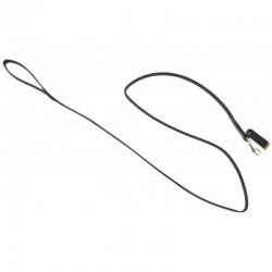 Circle T Black Leather Lead - 6' Long Image