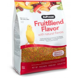 ZuPreem FriutBlend withNatural Fruit Flavors Pellet Bird Food for Very Small Birds (Canary and Finch) Image