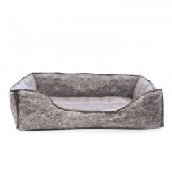 K&H Amazin' Kitty Lounge Sleeper - Gray Image