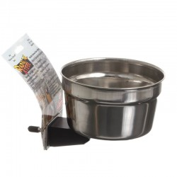Lixit Radical Steel Metal Cage Crock Bowl for Small Animals & Birds Image