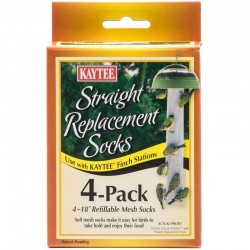 Kaytee Straight Replacement Socks for Finch Station Image