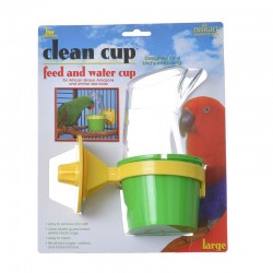 Clean Cup Feed and Water Cup Image