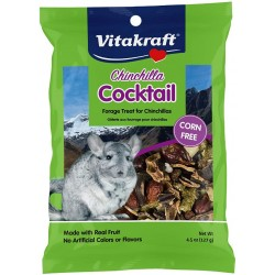 Vitakraft Chinchilla Cocktail Forage Treat Made With Real Fruit Image