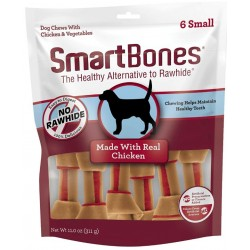 SmartBones Small Vegetable and ChickenBones Rawhide Free Dog Chew Image