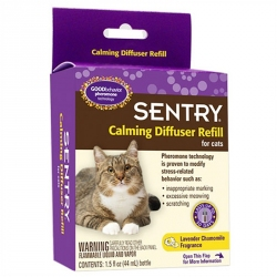 Sentry Calming Diffuser Refill for Cats Image