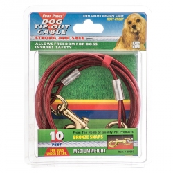Four Paws Tie Out Cable - Medium Weight Image