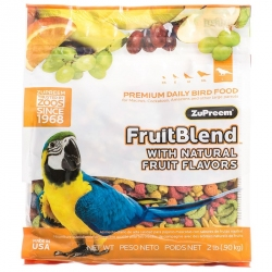 ZuPreem FruitBlend Flavor Bird Food for Large Birds Image