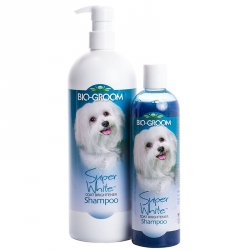 Bio Groom Super White Coat Brightener Shampoo Image