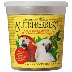 Lafeber Classic Nutri-Berries - Macaw & Cockatoo Food Image