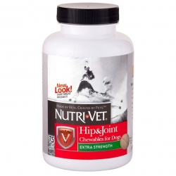 Nutri-Vet Hip & Joint Chewables for Dogs - Extra Strength Image